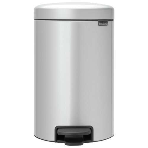 Ведро Brabantia NewIcon, 5 л metallic grey