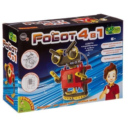 Купить Набор BONDIBON Роботы 4 в 1 (ВВ3342), Наборы для исследований