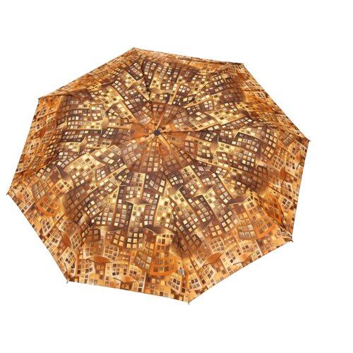 Зонт автомат Airton 3915 коричневый/бежевый зонт детский щенки