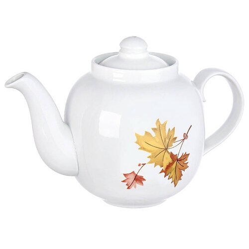 Дулёвский фарфор Заварочный чайник Янтарь 700 мл клен