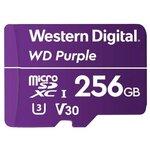Карта памяти Western Digital WD Purple microSD--