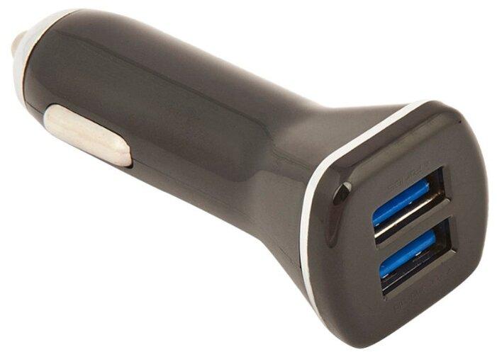 Автомобильная зарядка LDNIO DL-219 + Micro USB