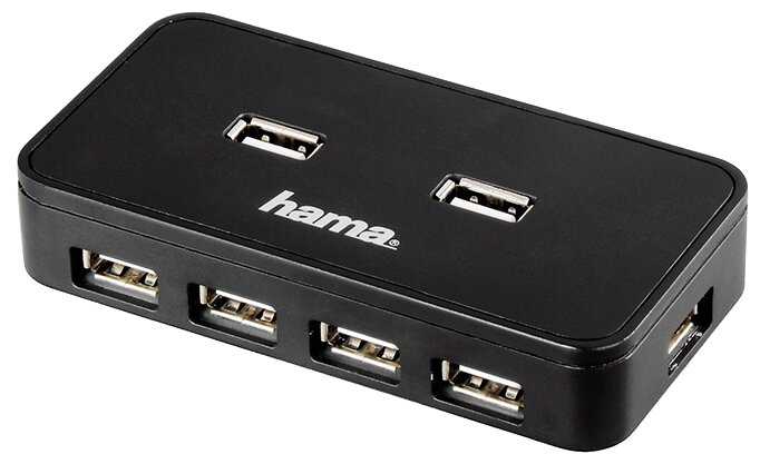 USB-концентратор HAMA Hub (00039859), разъемов: 7