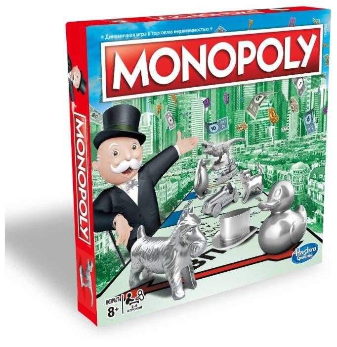 Настольная игра Hasbro Игры Monopoly Классическая Обновленная C1009