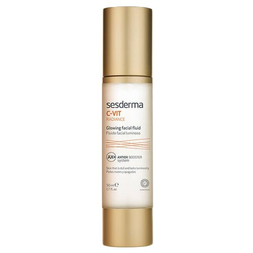 SesDerma C-Vit Radiance Glowing Fluid Флюид для сияния кожи лица, 50 мл sesderma депигментирующий гель к vit 50 мл