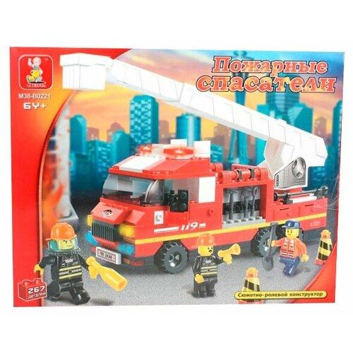 цена на Конструктор SLUBAN Пожарные спасатели M38-B0221