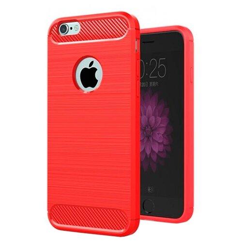 Купить Чехол EVA IP8A012-6 для Apple iPhone 6/iPhone 6S красный/карбон