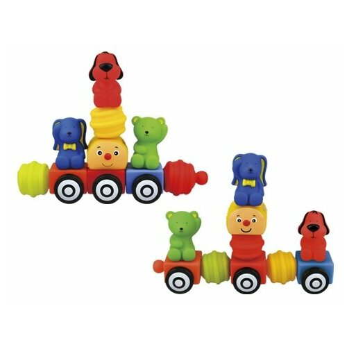 Купить Конструктор K's Kids Popbo Blocks KA10654 Поезд, Конструкторы
