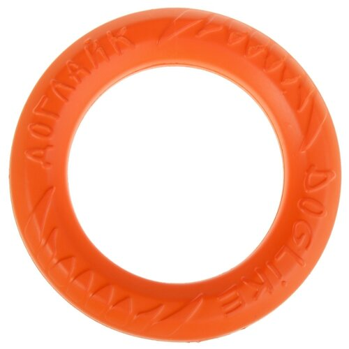Кольцо для собак Doglike Кольцо 8-ми гранное малое (D-2614) оранжевый