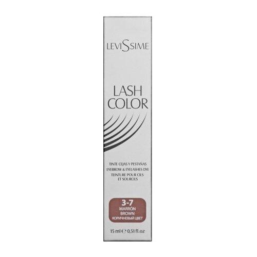 Купить Levissime Краска для бровей и ресниц LASH COLOR 15 мл 3.7, коричневый