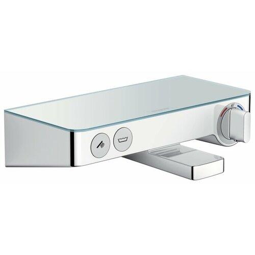 Смеситель для ванны с подключением душа hansgrohe ShowerTablet Select 300 13151000 однорычажный с термостатом смеситель для душа hansgrohe showertablet 13102000 с термостатом хром