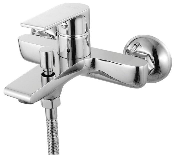 Смеситель для ванны с душем IDDIS Edifice EDISB00I02WA однорычажный хром