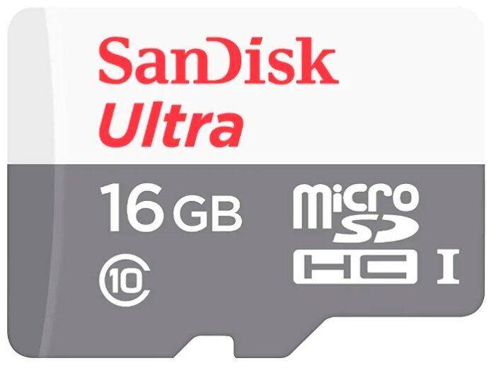 Карта памяти SanDisk Ultra microSDHC Class 10 UHS-I 80MB/s