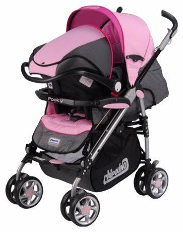 Прогулочная коляска Chipolino Pooky + car seat