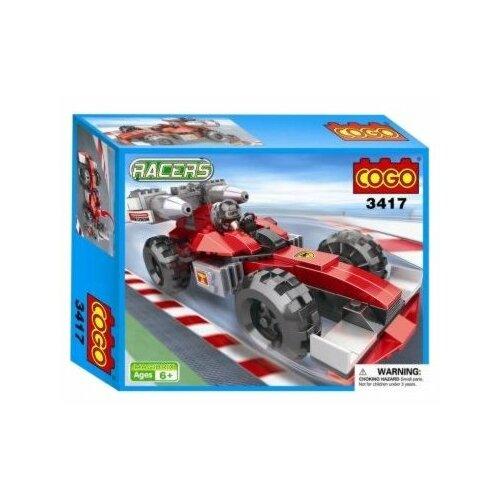 Купить Конструктор COGO Racers CGBX3417, Конструкторы