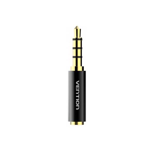 Купить Переходник Vention Jack 3.5 mm - Jack 2.5 mm (BFBB0) черный