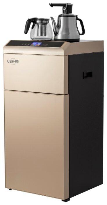 Кулер для воды Vatten L49QKAT Tea Bar напольный, нижняя загрузка бутыли, компрессорное охлаждение и нагрев, шампань