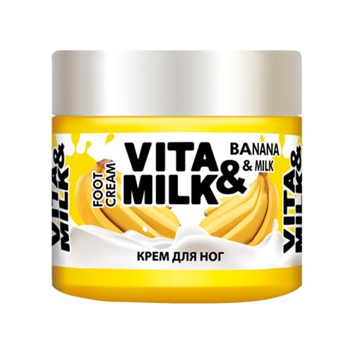 Vita & Milk Крем для ног Банан и молоко 150 мл баночка