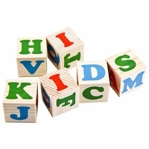 Кубики Томик Алфавит английский 1111-2 томик кубики алфавит с цифрами