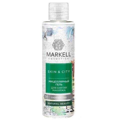 Markell мицеллярный гель для снятия макияжа Снежный гриб Skin&City, 200 мл недорого