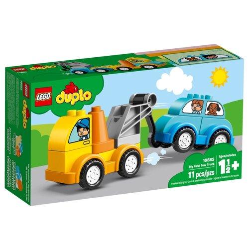 Купить Конструктор LEGO Duplo 10883 Мой первый эвакуатор, Конструкторы