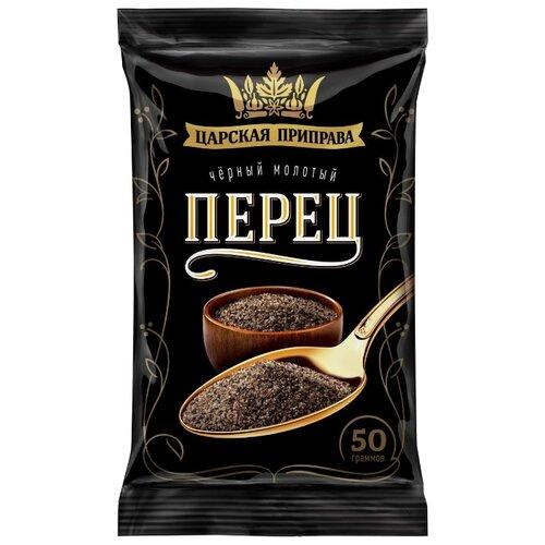Царская приправа Перец черный молотый, 50 гСпеции, приправы и пряности<br>