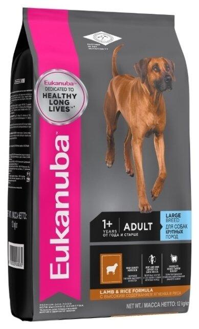 Корм для собак Eukanuba Adult Dry Dog Food For Large Breed Lamb & Rice