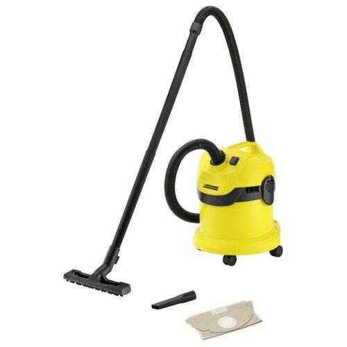 Профессиональный пылесос KARCHER WD 2 1000 Вт желтый