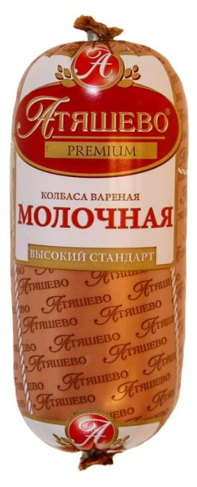 Атяшево Колбаса Молочная вареная