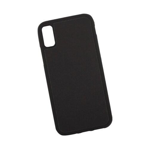 Чехол Liberty Project Термо-радуга для Apple iPhone X черный/голубой