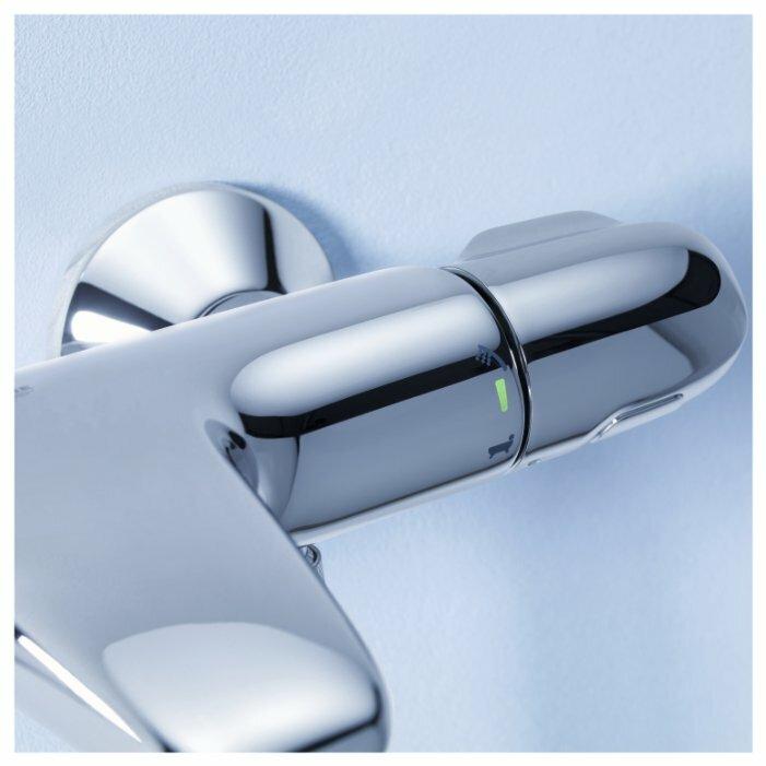 Смеситель для ванны с душем Grohe Grohtherm 1000 34155003 двухрычажный с термостатом хром