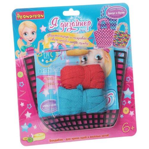 Купить BONDIBON Набор для шитья Я дизайнер Сделай сумку из хлопковых нитей (ВВ1424), Наборы для шитья
