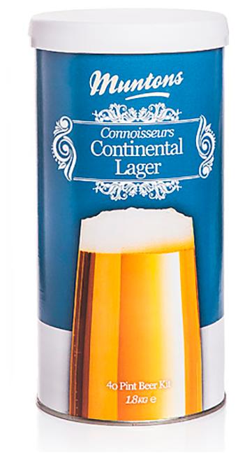 Солодовый экстракт Muntons Continental Lager, 1.8 кг