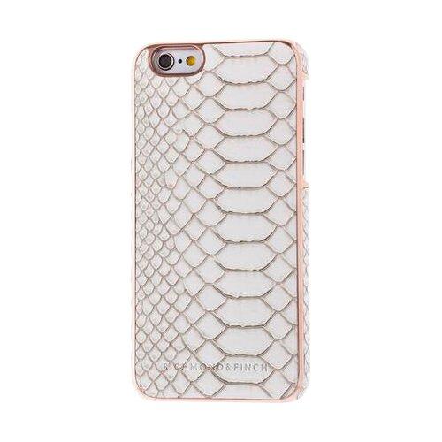 Чехол Richmond & Finch IP6-026 для Apple iPhone 6/iPhone 6S розовое золото/белая кожа