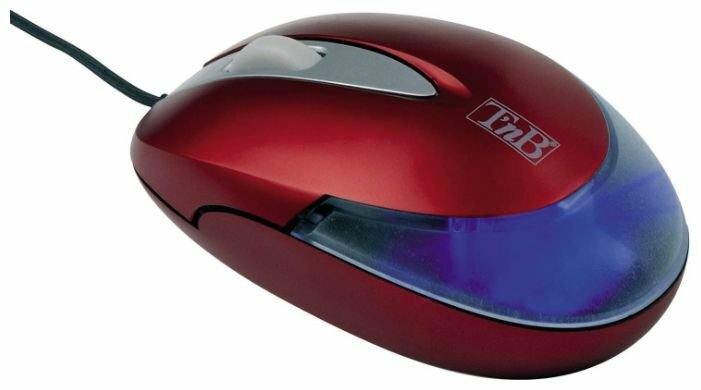 Мышь T'nB SMILIGHT Cherry mouse Red USB