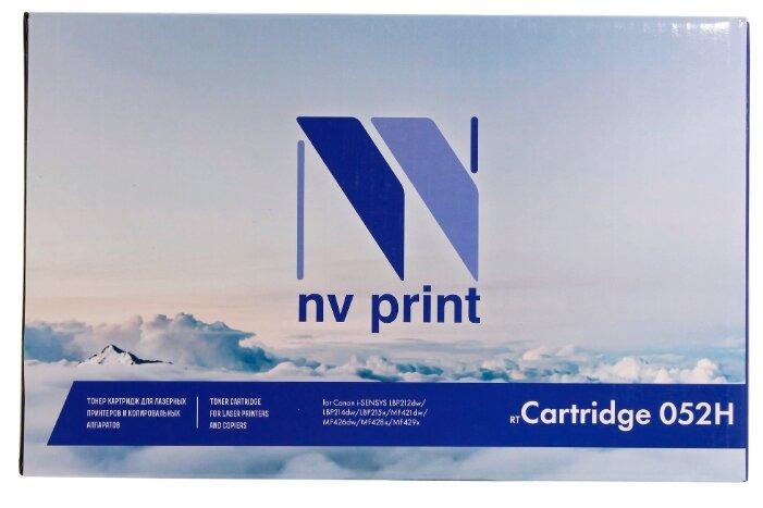 Картридж NV Print 052H для Canon, совместимый — купить по выгодной цене на Яндекс.Маркете
