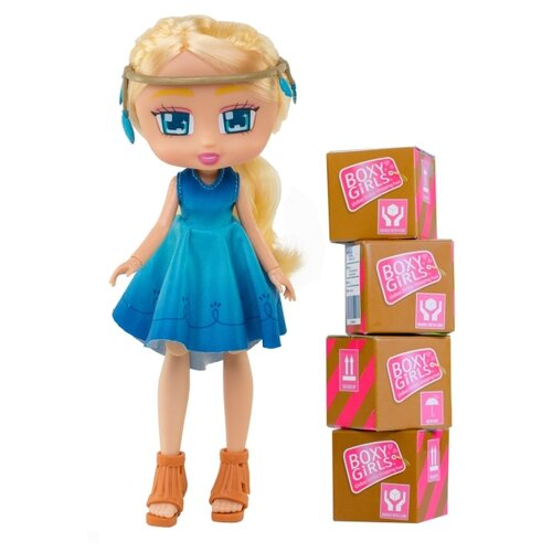Купить Кукла 1 TOY Boxy Girls Willa, 20 см, Т15107, Куклы и пупсы
