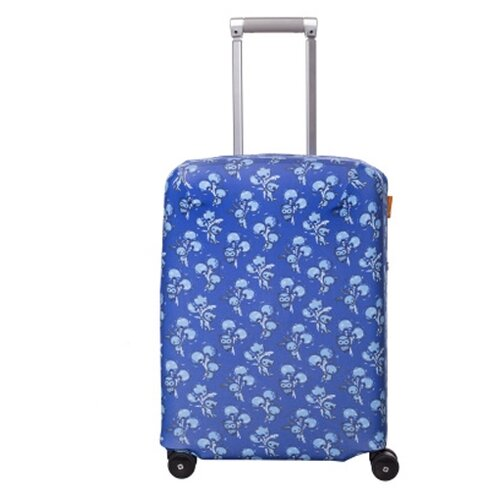 Чехол для чемодана ROUTEMARK «Белое и Пушистое» ART.LEBEDEV SP310 S, голубойЧемоданы<br>