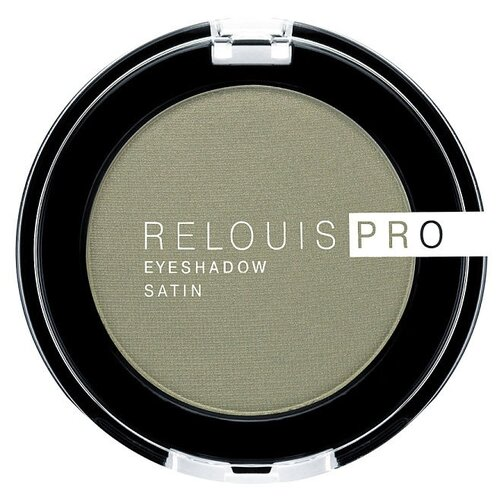 Купить Relouis Тени для век Pro Eyeshadow Satin 35 green tea