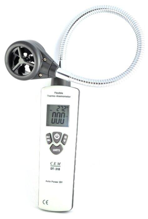 Анемометр CEM DT-318