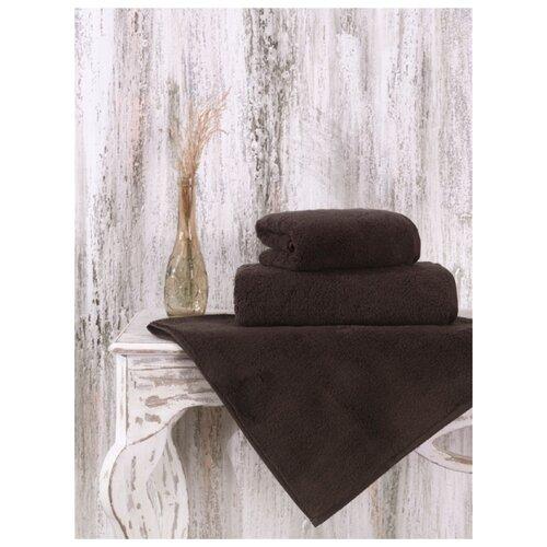 Фото - Полотенце микрокоттон Karna. Mora, 70x140 см (коричневый) полотенце karna mora микрокоттон 50x90 светло лаванда 2624 char006