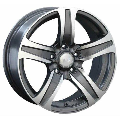 Фото - Колесный диск LS Wheels LS145 7х16/5х114.3 D73.1 ET40, GMF колесный диск ls wheels ls570 7x16 5x114 3 d73 1 et40 hp