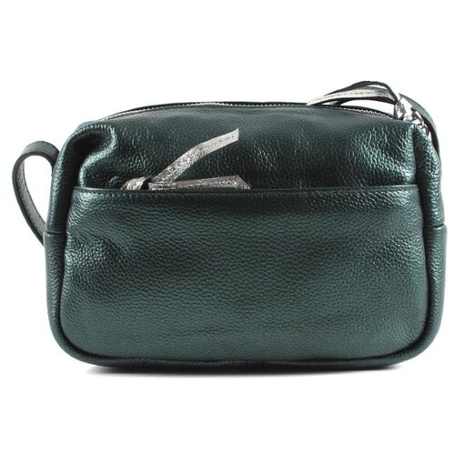 Сумка кросс-боди Meyninger СВ066, натуральная кожа, темно-зеленый сумка женская fiato dream 1240 темно зеленый