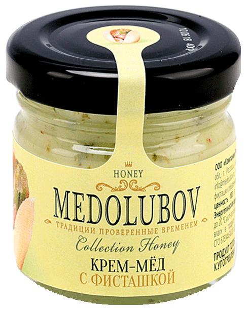 Крем-мед Medolubov с фисташкой 40 мл