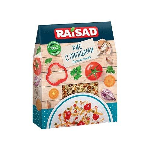 RAISAD Рис с овощами Постная паэлья 200 гСмеси для супов и гарниров<br>
