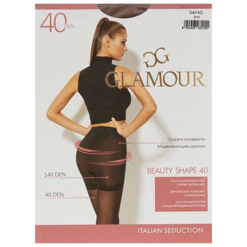 Колготки Glamour Beauty Shape 40 den, размер 3-M, daino (бежевый) колготки glamour prestige 40 daino