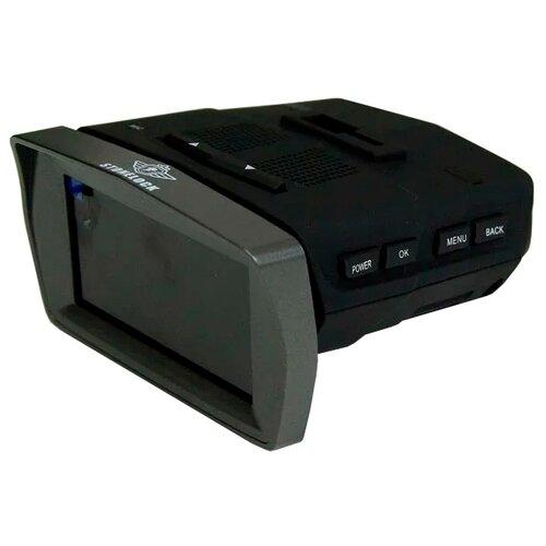 Видеорегистратор с радар-детектором Stonelock Phoenix, GPS черный