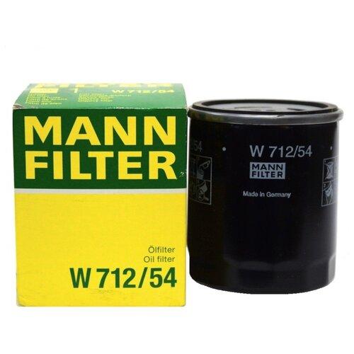 Масляный фильтр MANNFILTER W 712/54 масляный фильтр mannfilter w 712 4