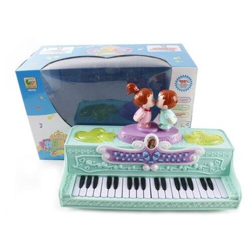 Наша игрушка пианино BB393 розовый игрушка