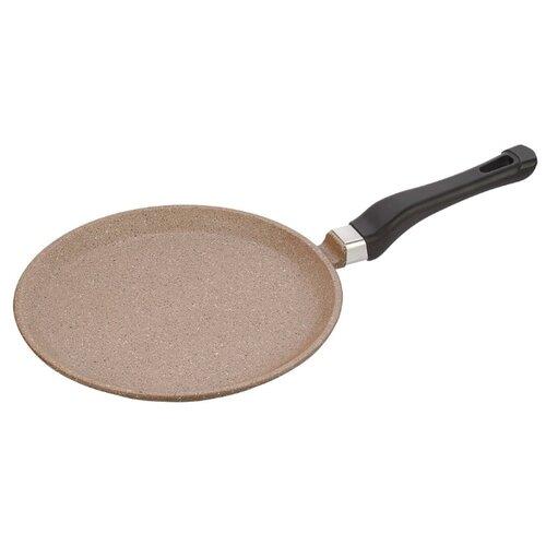 Сковорода блинная КАТЮША 9222 22 см, шоколадный гранит